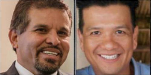 Sergio Hernández y Eduardo José Liu Yon fueron socios y amigos. El segundo ahora es colaborador eficaz del MP y declaró en contra del primero. (Fotos: archivo/Soy502).