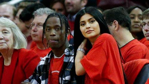 Travis Scott, actual pareja de Kylie Jenner. (Foto: Life & Style)