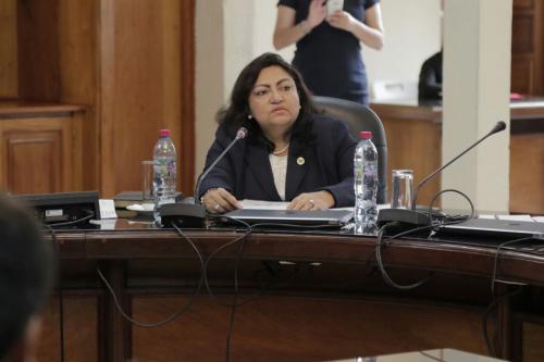 La magistrada Dávila obtuvo cinco votos a favor. (Foto: Alejandro Balán/Soy502)