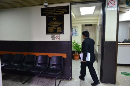 La Sala de Mayor Riesgo deberá fijar una nueva fecha para escuchar la defensa del legislador. (Foto: Jesús Alfonso/Soy502)