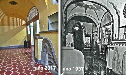 Cambio del Gran Hotel a través de los años. (Foto: archivo de Alejandro Leal)
