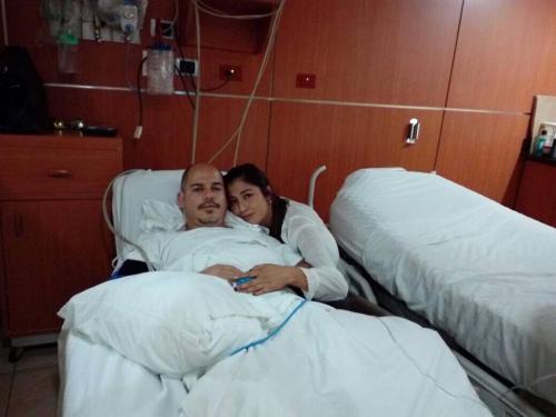 José Fernando sufre de una malformación arteriovenosa congénita. (Foto: cortesía)