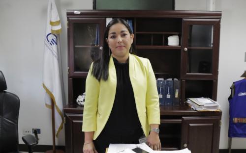 Viana es la Intendente de Asuntos Jurídicos interina. (Foto Alejandtro Balán/Soy502)
