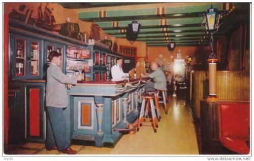 El área de bar era el centro de ocio de los visitantes. (Foto: archivo de Alejandro Leal)
