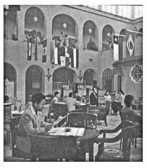 El actual Salón Oro era una de las áreas comunes del hotel. (Foto: archivo compartido por Alejandro Leal)