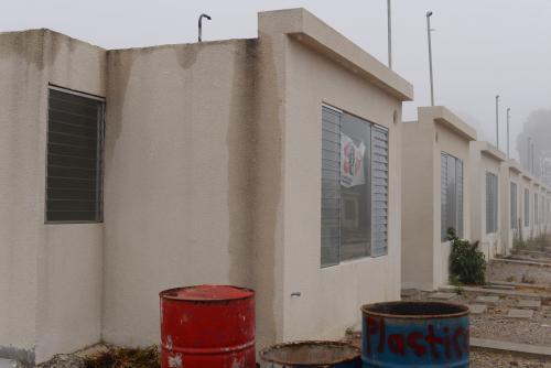 Algunas casas tuvieron que ser reparadas por el abandono del proyecto. (Foto: Wilder López/Soy502)