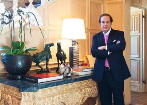 Él es el nuevo dueño de la mansión Playboy. (Foto: Infobae)