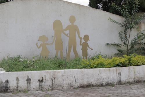 El proyecto Querida Familia se ubica en San José Pinula, en la ruta hacia Mataquescuintla. (Foto: Alejandro Balán/Soy502)
