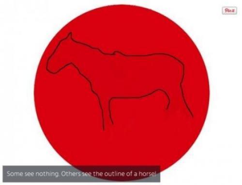 Hay un caballo oculto. (Foto: Pinterest)