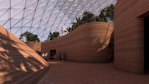 El costo de la construcción de la enorme ciudad marciana en el desierto será de unos 136 millones de dólares. (Foto: actualidad.rt.com)