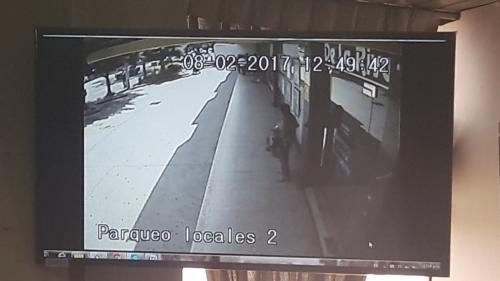 El MP presentó imágenes de cámaras de seguridad. (Foto: Javier Lainfiesta/Soy502)