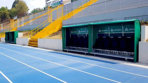 El Estadio Cementos Progreso cuenta con instalaciones totalmente renovadas para albergar cualquier evento deportivo. (Foto: VictorXiloj/Soy502).