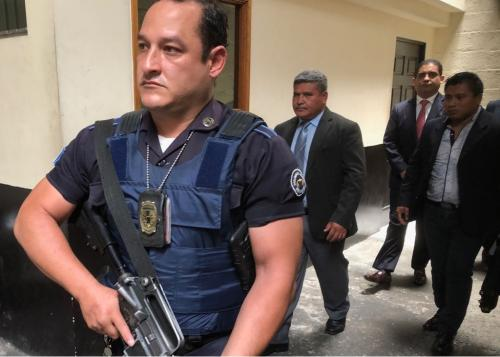 La seguridad de Juan Carlos Monzón se redobló luego de que diera a conocer las intimidaciones. (Foto: Jesús Alfonso/Soy502)