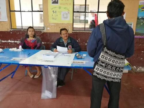 Los guatemaltecos votaron en todo el país. (Foto: Jesús Alfonso/Soy502)