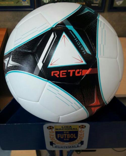 """""""Reto Match"""" es el nuevo balón de la Liga Nacional. (Foto: Soy502)"""