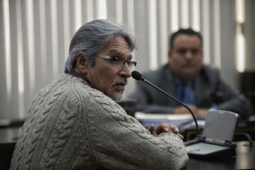 Otro sindicado al caso del fraude a la municipalidad de Chicamán, Quiché, quedó ligado a proceso penal. (Foto: Wilder López/Soy502)
