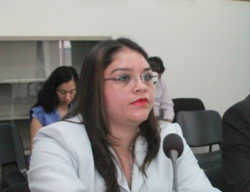 La jueza Rocío Murillo es señalada de no practicar de inmediato una exhibición personal solicitada a favor de los internos del Hogar Seguro Virgen de la Asunción. (Foto: Archivo)