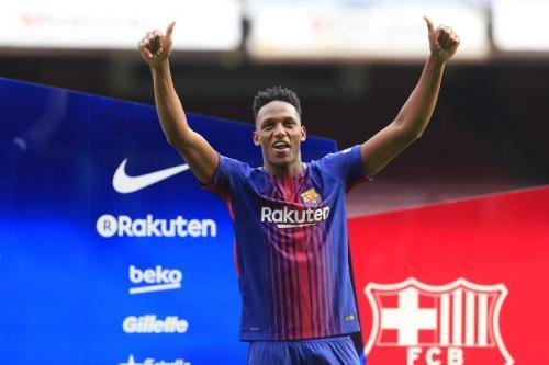 El colombiano asegura que estar en Barcelona es hacer realidad su sueño. (Foto: AFP)