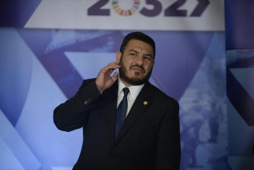 Alfonso Alonzo asumió hoy como nuevo ministro de Ambiente. (Foto: Wilder López/Soy502)