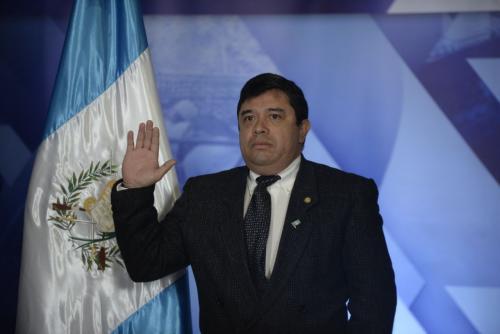 René Obregón es el nuevo ministro de Desarrollo Social. (Foto: Wilder López/Soy502)