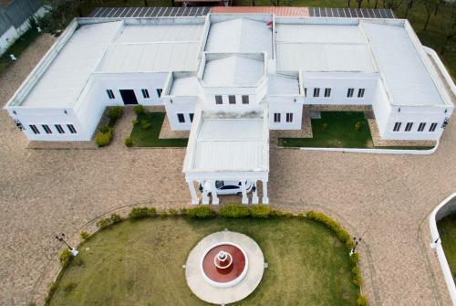 La Casa Blanca es el área principal de la mansión de Baldizón. Mide 40 por 47 metros. (Foto: Wilder López/Soy502)