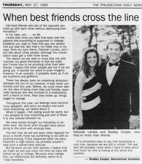 El artículo de Bradley fue publicado el 27 de mayo de 1993. (Foto: archivo)