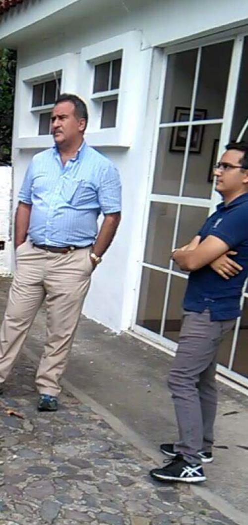 Iten Rodríguez habría participado en el desalojo ilegal de los propietarios del Hotel Visión Azul en Panajachel. (Foto: Rony Rodríguez, supuesta víctima)