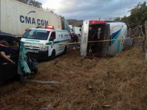 El accidente fue mortal para tres guatemaltecos. (Foto: Oriente News)