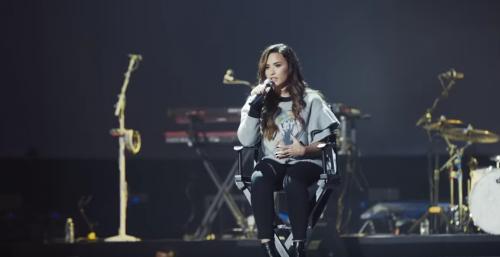 Demi Lovato quiere que todos reciban tratamiento para una buena salud mental. (Foto: captura de pantalla)