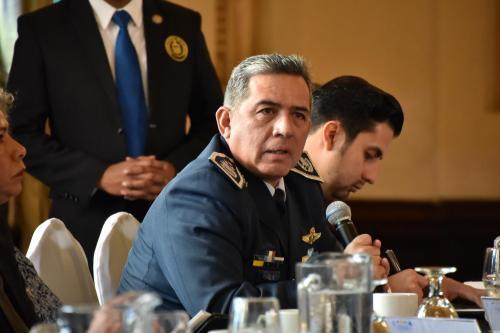 El viceministro participó en el gabinete junto al vicepresidente Cabrera. (Foto: Gobierno)