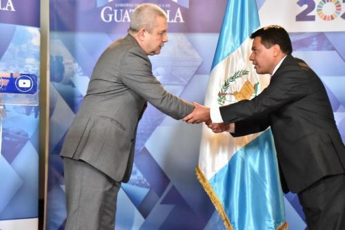 """Al nuevo viceministro de Gobernación, Kamilo Riveras, se le vincula a la unidad llamada """"Los Riveritas"""", vinculada al exasesor de la cartera del Interior, Víctor Rivera. (Foto: Gobierno de Guatemala)"""