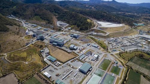 Cuando la mina San Rafael estuvo en funcionamiento se generaban Q. 1.130 millones por día. (Foto: dron Soy502)