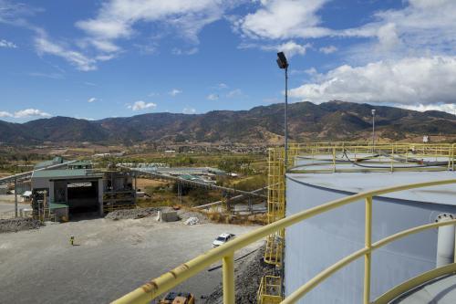 Vista panorámica desde los tanques de almacenamiento de agua. (Foto: George Rojas/Soy502)