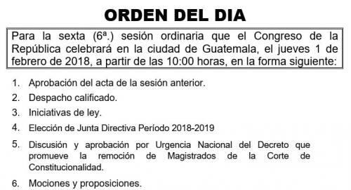 Esta es la orden falsa que ha circulado en redes sociales con la supuesta intención de remover a los magistrados de la CC. (Foto: captura de pantalla)