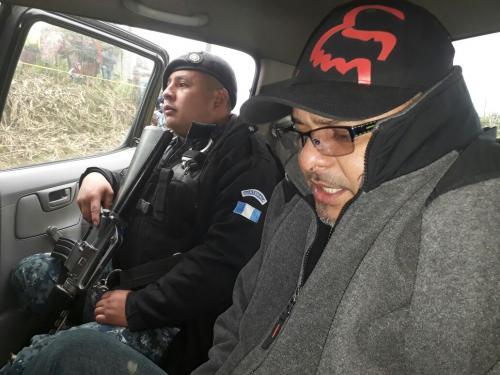 Las autoridades capturaron al conductor del tráiler en el que se localizó más de 1 millón de dólares. (Foto: PNC)