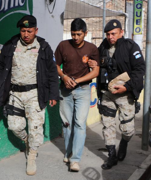 Capturan al presunto responsable de un ataque armado en Jalapa. (Foto: PNC)
