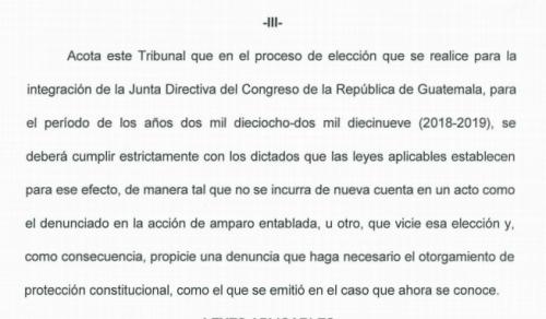 La CC conminó al Congreso a cumplir con las leyes aplicables a la elección de la Directiva. (Foto: captura de pantalla)