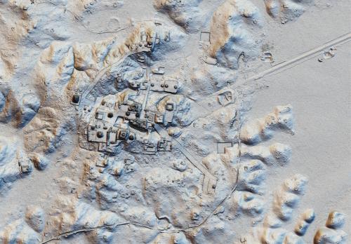 La ciudad de Tikal también se incluyó dentro de la investigación. (Foto: Pacunam)