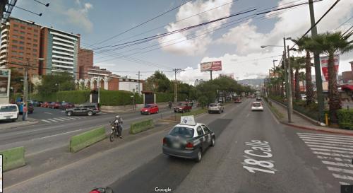 En este punto será colocado el semáforo. (Foto: GoogleMaps)