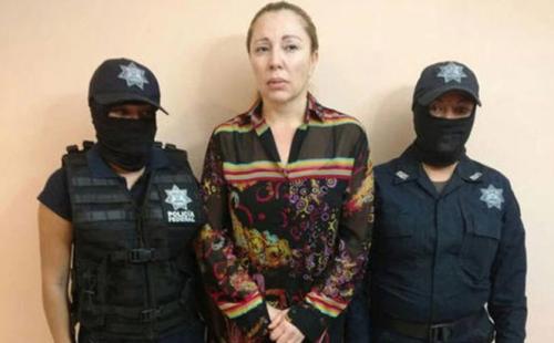 Clara Elena Laborín fue identificada como la esposa de Héctor Beltrán Leyva y una líder del Cártel de los Beltrán Leyva. Fue detenida en 2017 en Hermosillo, Sonora. (Foto: www.infobae.com)