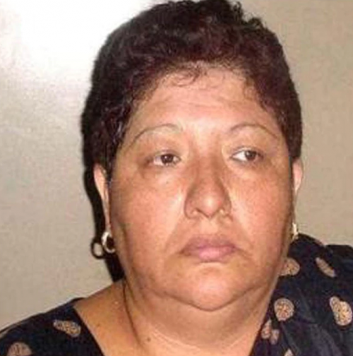 """Ella es Delia Patricia Buendía alias """"La Ma Baker"""", la exlíder del Cártel de Neza, hoy presa en un penal mexicano. (Foto: www.infobae.com)"""