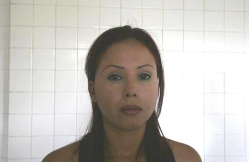 Otra de las detenidas es Mireya Moreno, identificada como la jefa de Los Zetas en San Nicolás de los Garza, Nuevo León. (Foto: www.infobae.com)