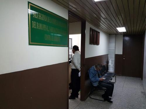 La audiencia en la que Blanco presentó sus pruebas de descargo se extendió por más de hora y media. (Foto: Jesús Alfonso/Soy502)