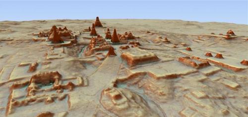 El documental muestra que así puede ser realmente Tikal. (Foto: NatGeo)