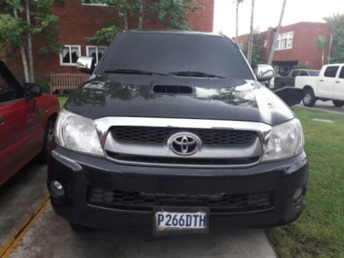 """Este es el carro en el que Benjamín Estrada sacó a """"La Patrona"""" de prisión. (Foto: PNC)"""