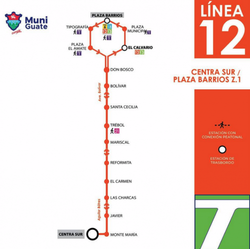 Así quedó ahora el recorrido y estaciones de transbordo de la Línea 12.