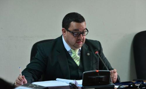 El juez Carlos Toledo también estuvo a cargo del proceso penal contra Jabes Meda, sindicado de arrollar a un grupo de estudiantes que manifestaba en la Calzada San Juan. (Foto: archivo/Soy502)
