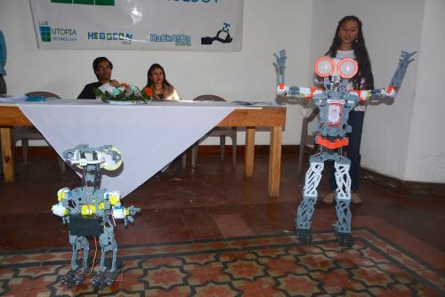La jovencita ha recibido una beca para desarrollar sus conocimientos en un club de robótica. (Foto: Vinicio Tan/Nuestro Diario)