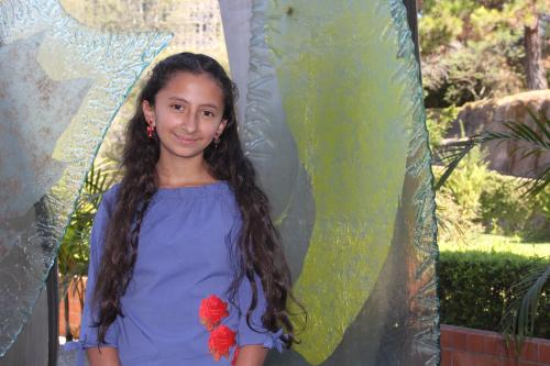La adolescente compartió su experiencia a decenas de niñas que participaron en el DigiGirlz de Microsoft. (Foto: Fredy Hernández/Soy502)