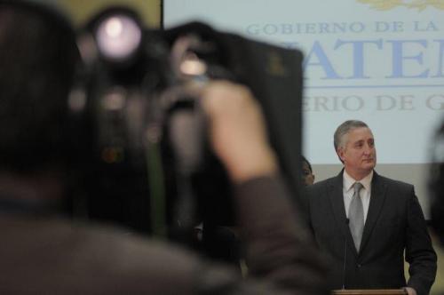 ¿Ambiciona el ministro Degenhart postularse a un cargo público en 2019?. (Foto: Wilder López/Soy502)